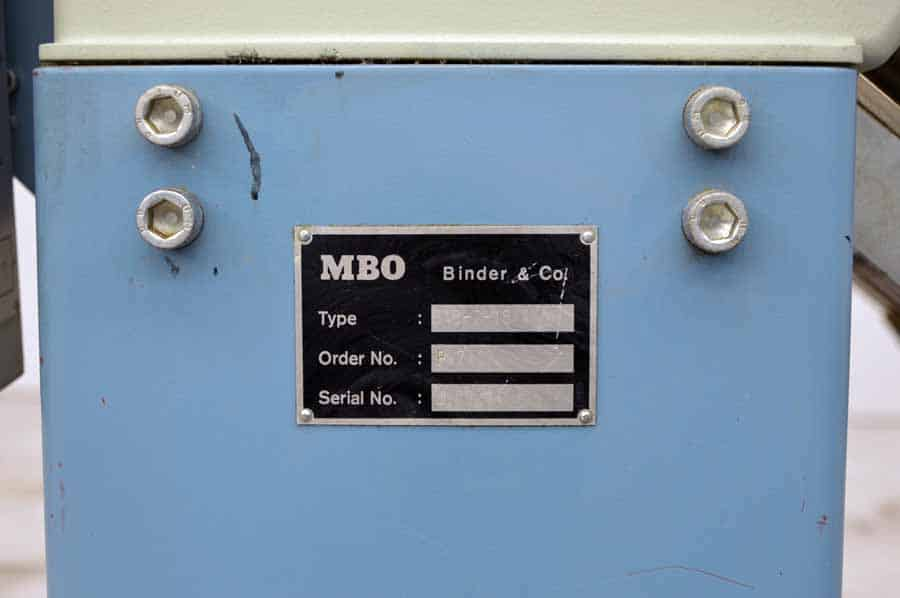 MBO B18 Paper Folder w/ Pile Feed and 8 Page Return