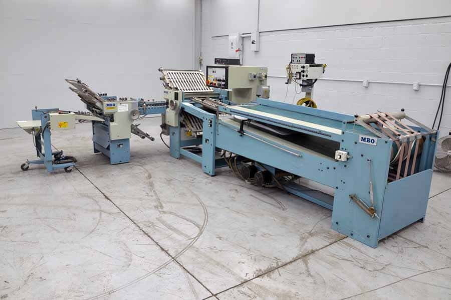 MBO B26 Paper Folder with Roll Away Delivery