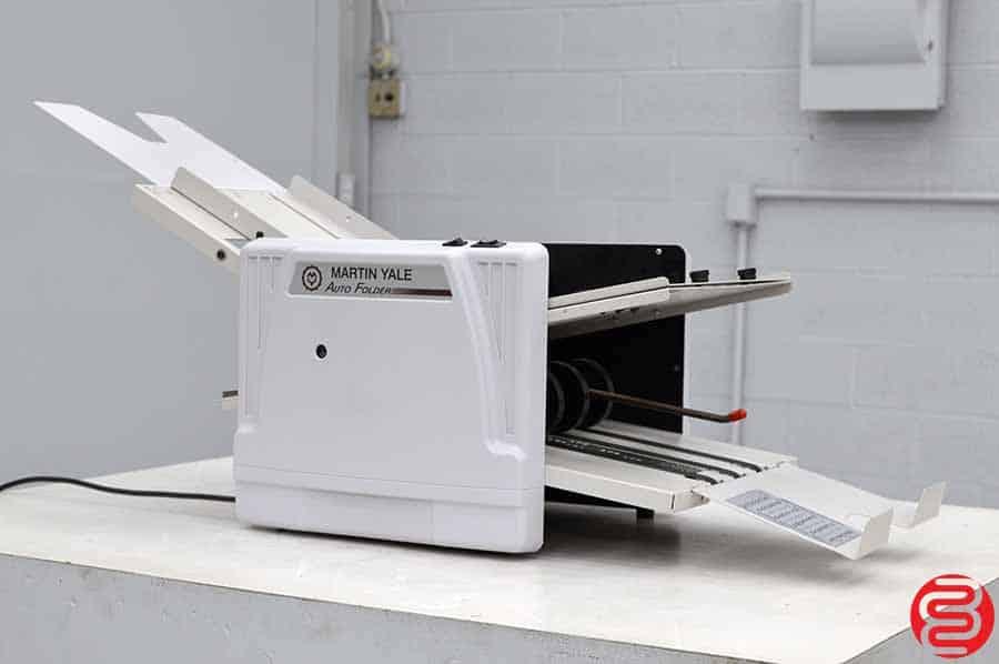 """Martin Yale 1217A Autofolder 12"""" x 17"""" Paper Folder"""