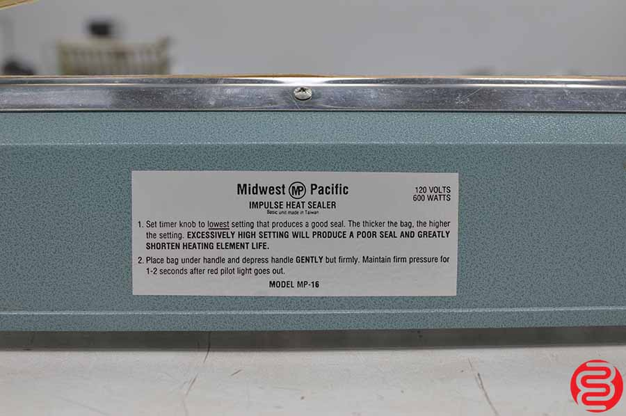 Midwest Pacific MP-16 Impulse Sealer