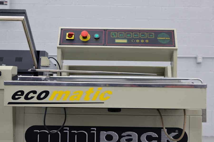 Minipack Ecomatic Fully Automatic Shrink Wrap Machine