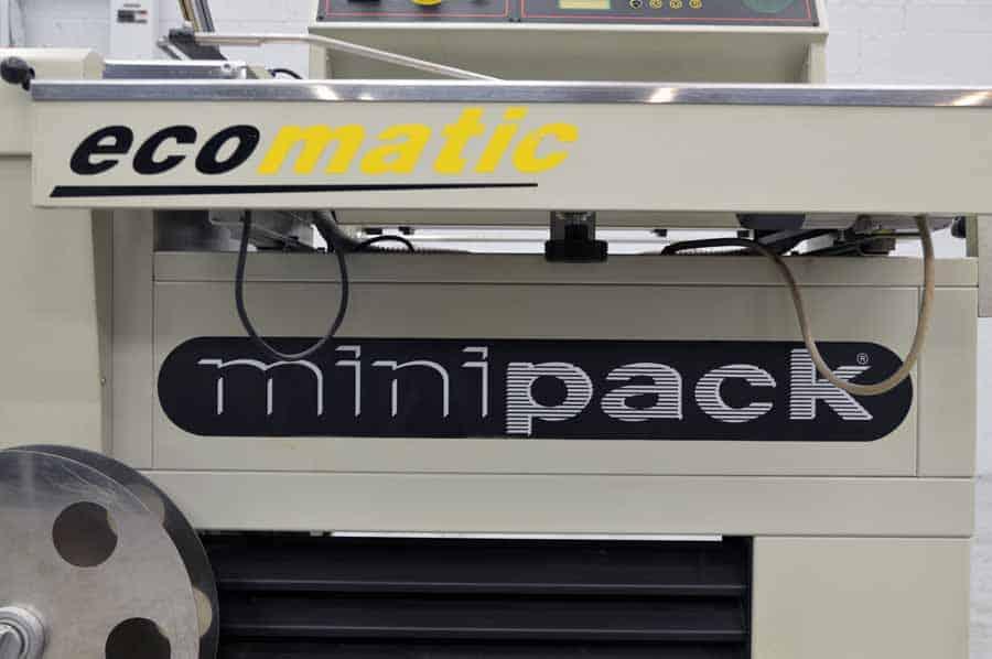 Minipack Ecomatic Fully Automatic Shrink Wrap Machine