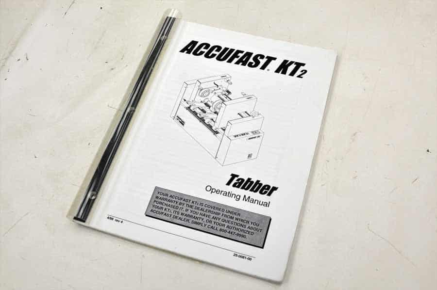 Neopost KT2 Tabber w/ Accufast HDF Feeder