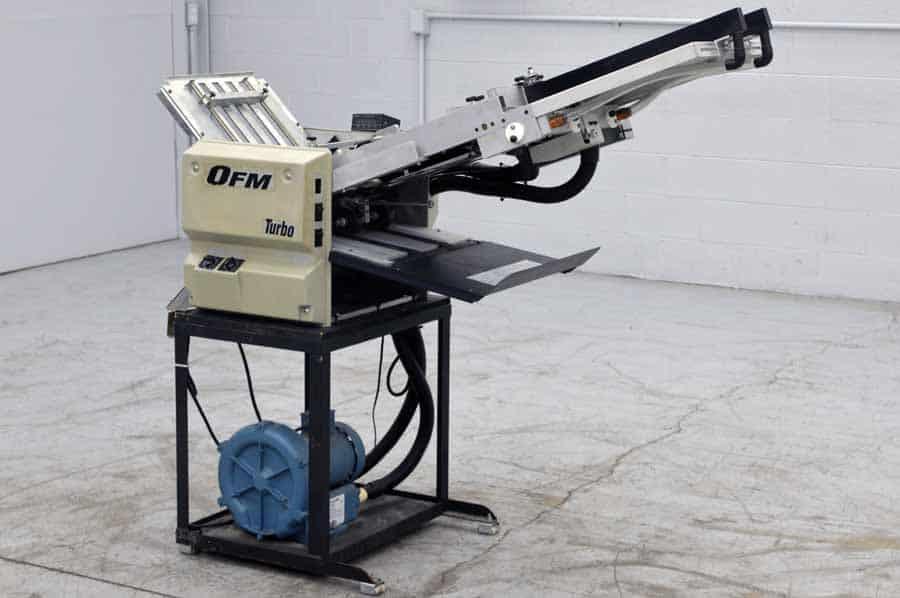 OFM Turbo Vacuum Feed Paper Folder