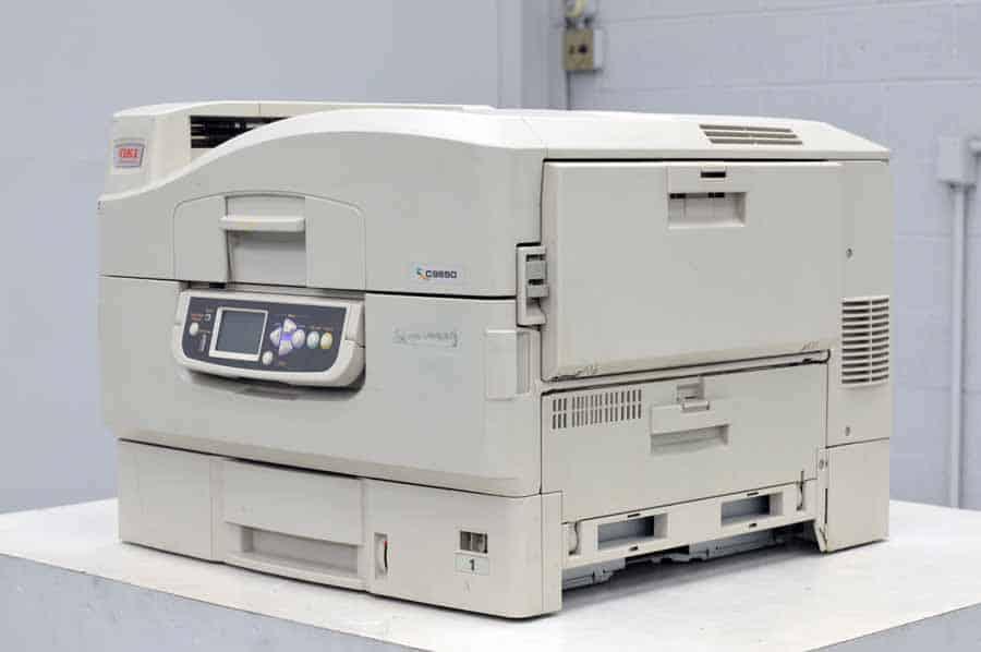 OKI C9650 Series Color Digital Press