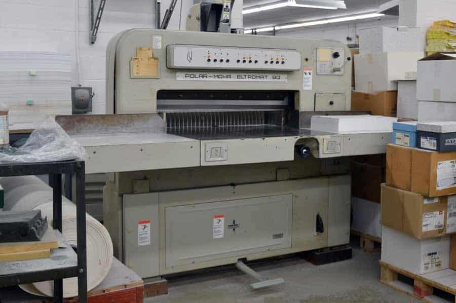 Polar-Mohr Eltromat 90 Paper Cutter