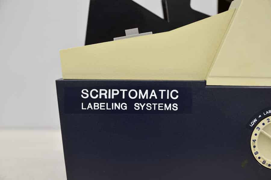 Scriptomatic 1000 Address Labeling System