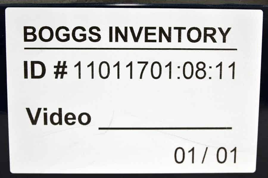 Scriptomatic 1000 Address Labeling System