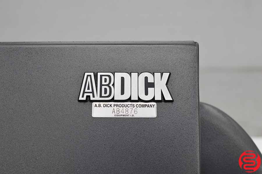 AB Dick DPM34 SC Computer to Plate System w/ Rip