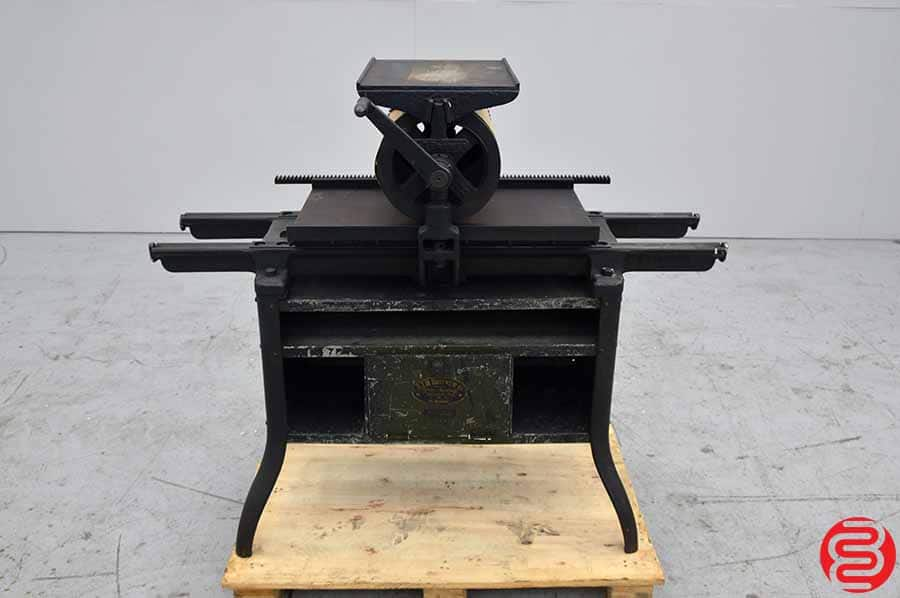 ATH Brower Ball Bearing Proof Press