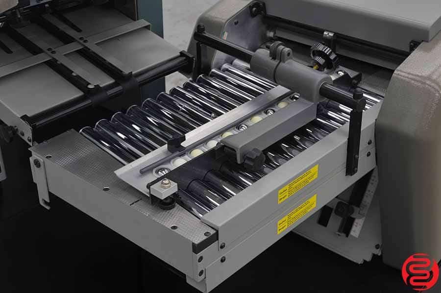 Baum 714 Ultrafold Vacuum Feed Paper Folder w/ 714 XLT Thru-Fold