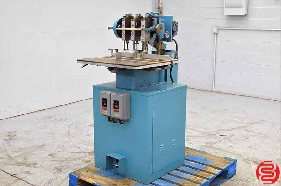 Baum / Nygren Dahly ND5 Three Spindle Hydraulic Paper Drill
