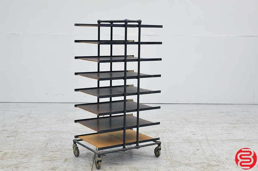CF Anderson Bindery Cart