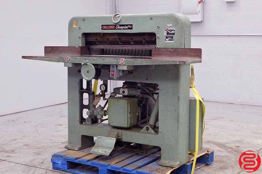 Challenge 305 MB Hydraulic Paper Cutter