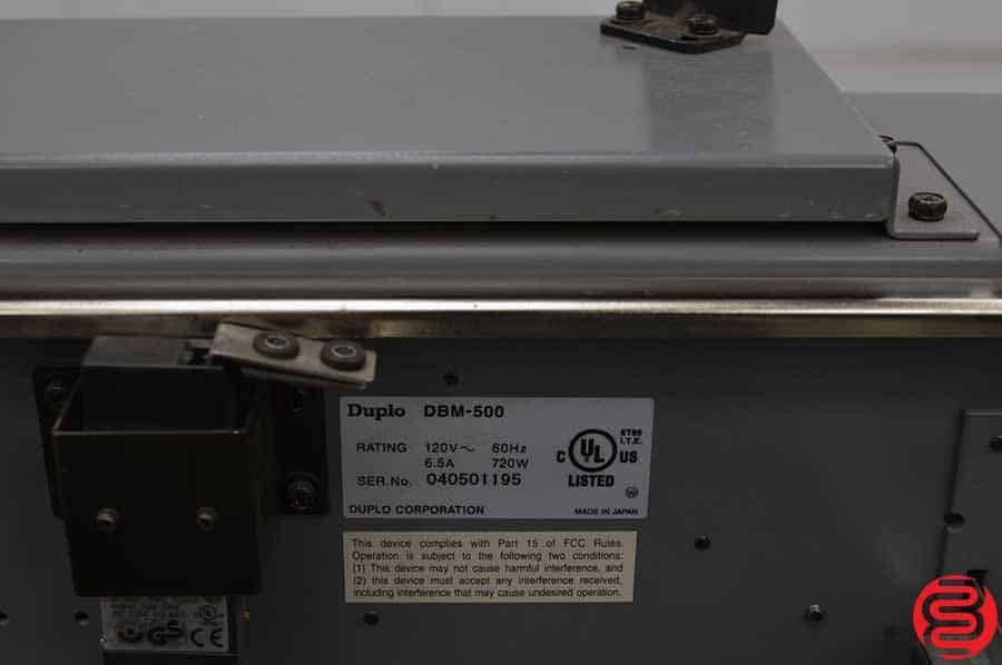 Duplo 5000 Booklet Making System with DSF-2000 Sheet Folder