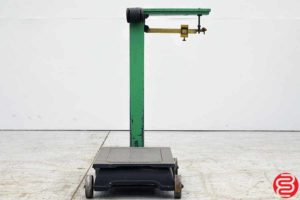 Fairbanks 1000 lb. Mechanical Graduated Beam Floor Scale