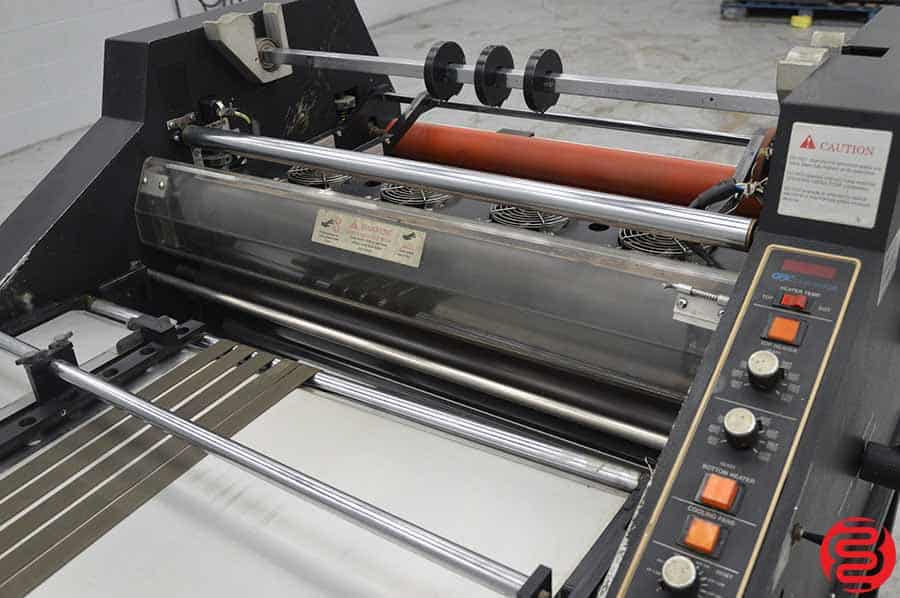 GBC 6250 Double Sided Laminator w/ Feeding Table