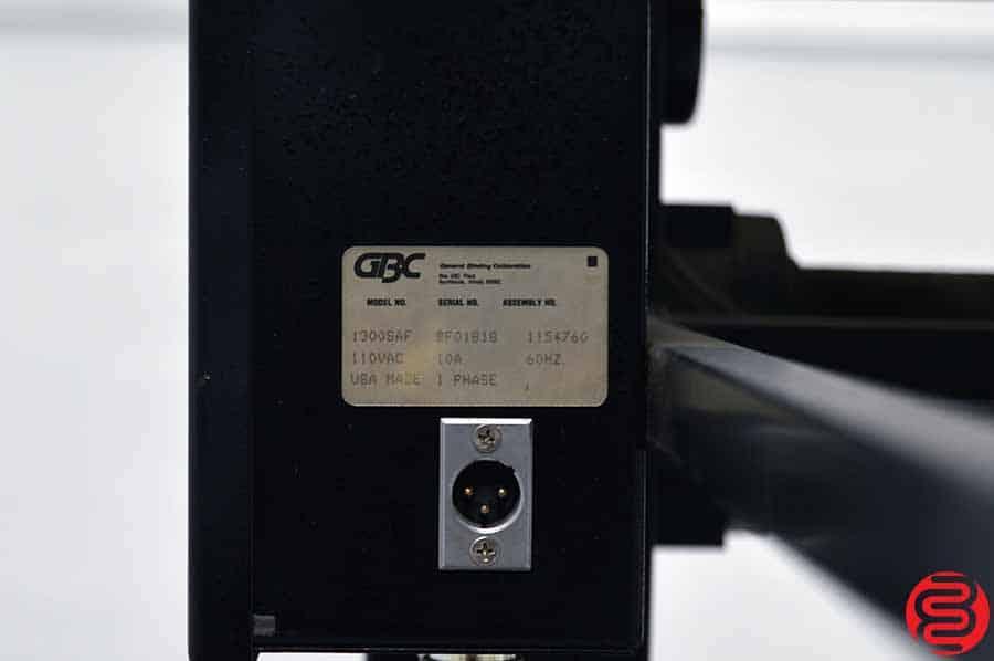 GBC 6250 Double Sided Laminator w/ Feeding Table
