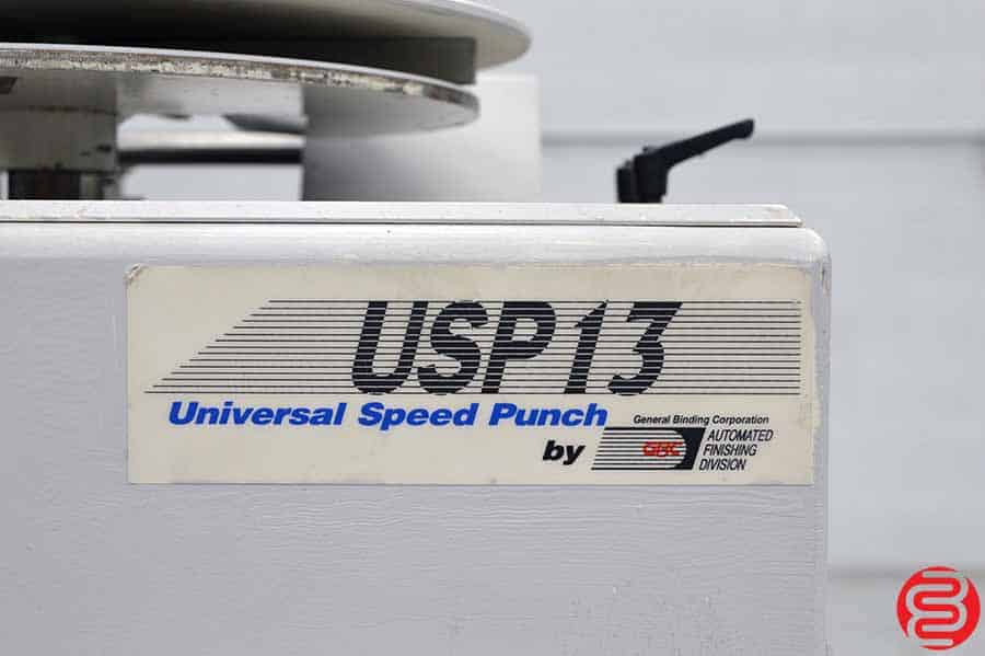 GBC Sickinger USP 13 Universal Speed Punch
