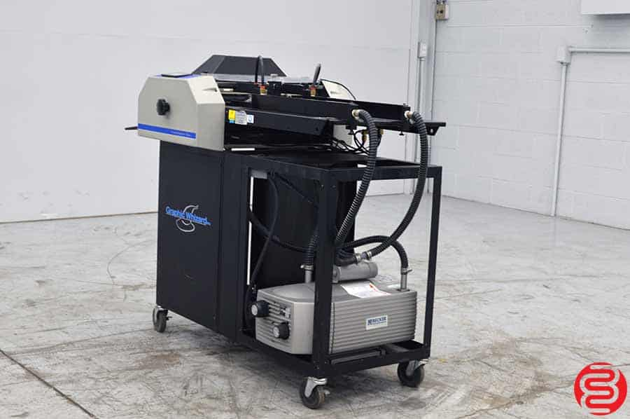 Graphic Whizard Creasemaster Plus Vacuum Feed Impact Creaser