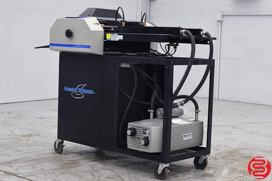 Graphic Whizard Creasemaster Plus Vacuum Feed Impact Creaser