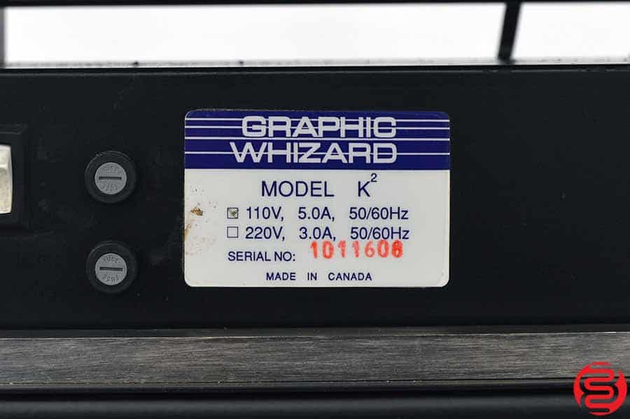 Graphic Whizard K² Two Head Numbering / Perf / Slit / Score Machine
