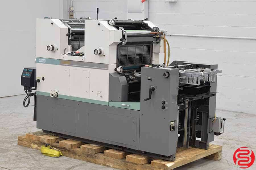 Hamada C248E Two Color Offset Press