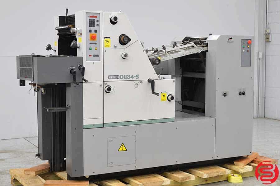 Hamada DU34-S 14 x 18 Two Sided Offset Press
