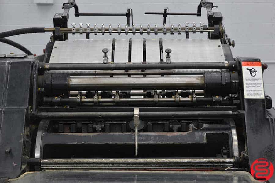 "Heidelberg KORD 18"" x 24 1/2"" Offset Printing Press"