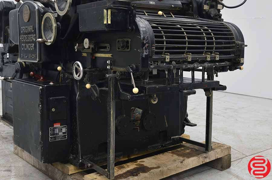 Heidelberg KS 38 x 52 Cylinder Die Cutter