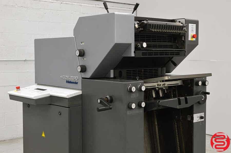 2007 Heidelberg Printmaster QM 46-2 Two Color Printing Press