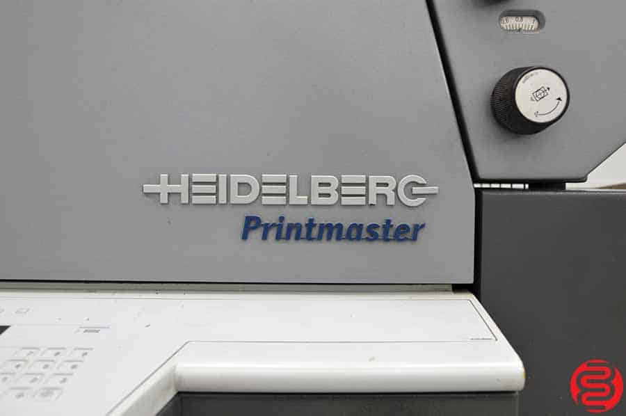 2007 Heidelberg Printmaster QM 46-2 Two Color Printing Press