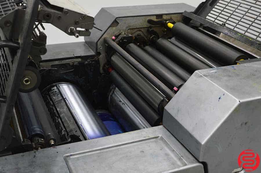 2002 Heidelberg Printmaster QM 46-2 Two Color Printing Press