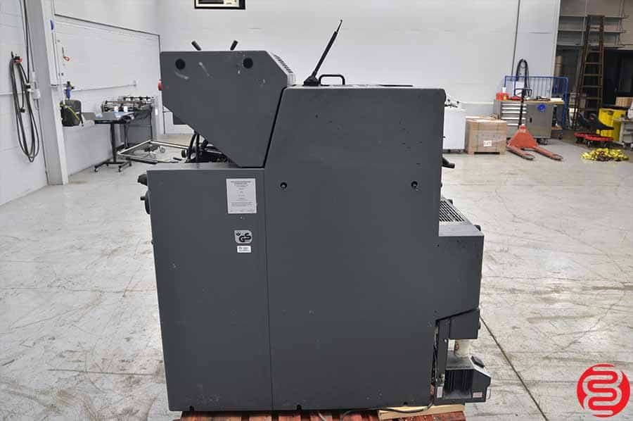 2002 Heidelberg Printmaster QM 46-2 Two Color Printing Press