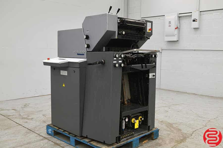 2004 Heidelberg Printmaster QM 46-2 Two Color Printing Press