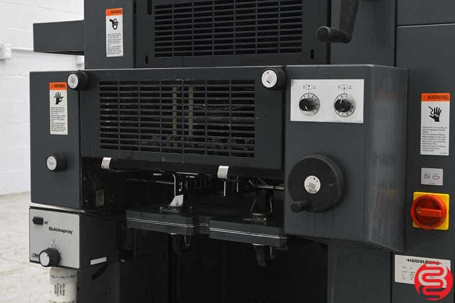 2004 Heidelberg Printmaster QM 46-2 Two Color Printing Press