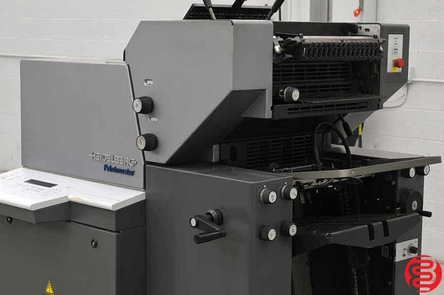 2001 Heidelberg Printmaster QM 46-2 Two Color Printing Press