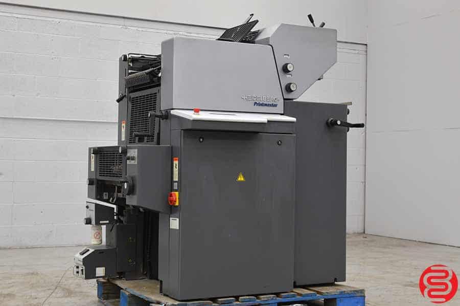 2001 Heidelberg Printmaster QM 46-2 Two Color Printing Press