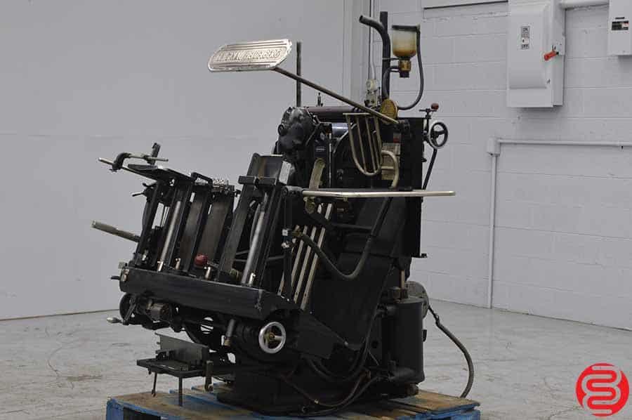 Heidelberg 10 x 15 Redball Windmill Letterpress