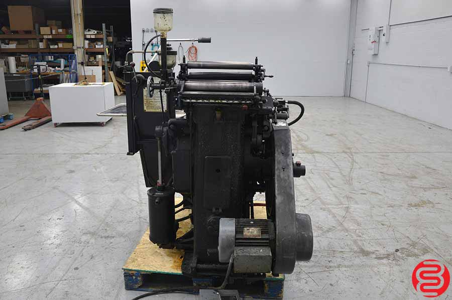 Heidelberg Red Ball Windmill Letterpress w/ Lockout Rollers