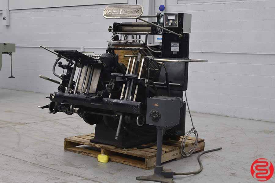 Heidelberg 10 x 15 Windmill Letterpress w/ Foil