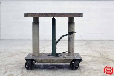 Hydraulic Elevating Table