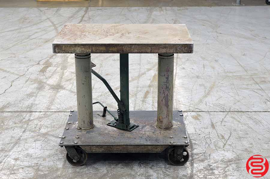 Hydraulic Elevating Table