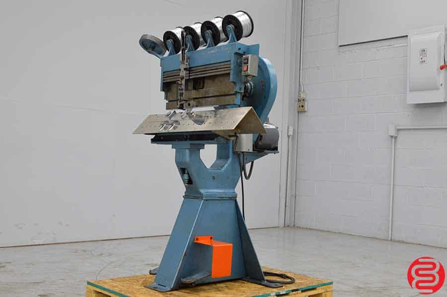 1985 Interlake P Multiple Head Flat Book / Saddle Stitcher