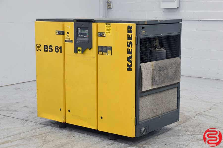 Kaeser BS 61 Rotary Screw Air Compressor