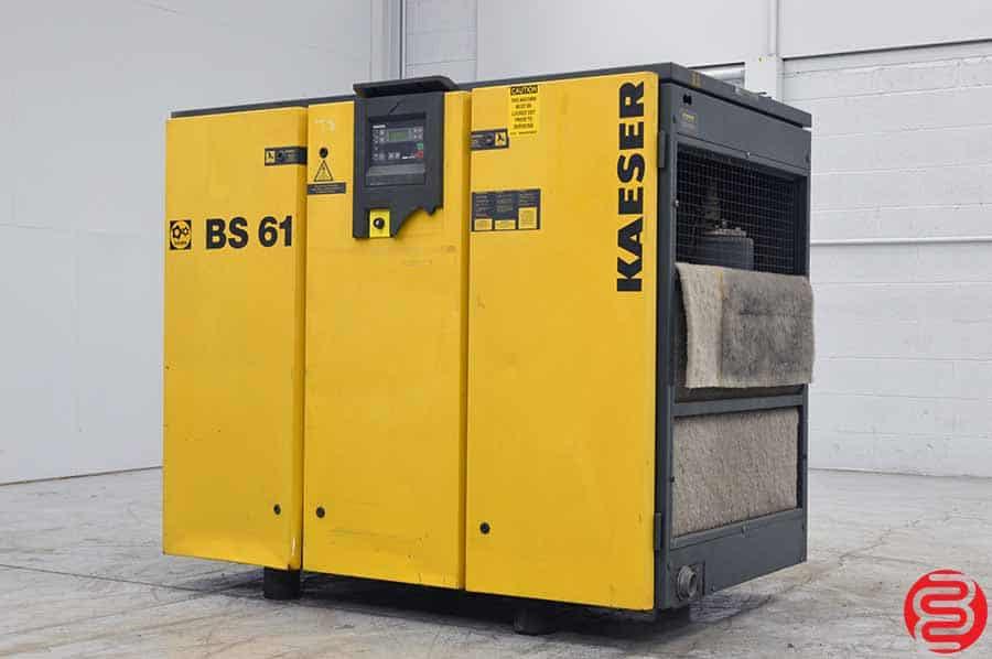 Kaeser BS 61 Rotary Screw Air Compressor