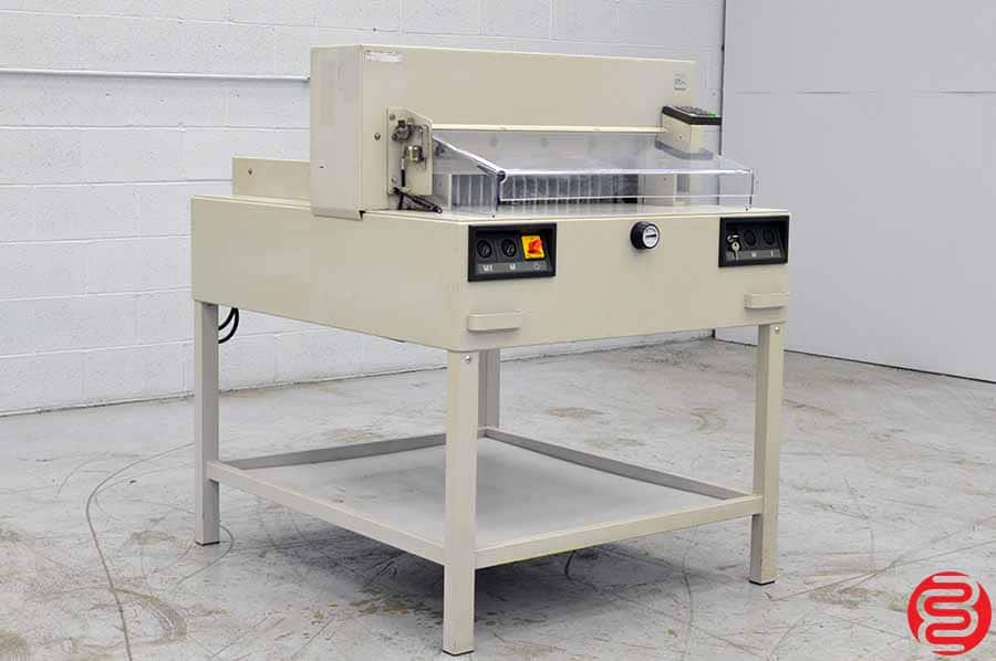 MBM Triumph 6550-95EP Power Cut & Clamp Paper Cutter