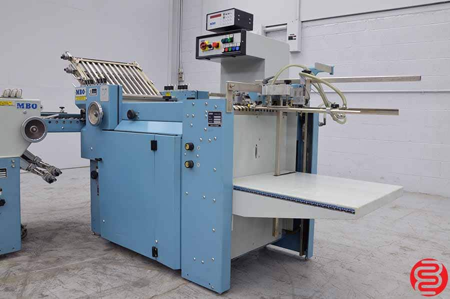 MBO B20 Pile Feed Paper Folder w/ 8 Page Right Angle