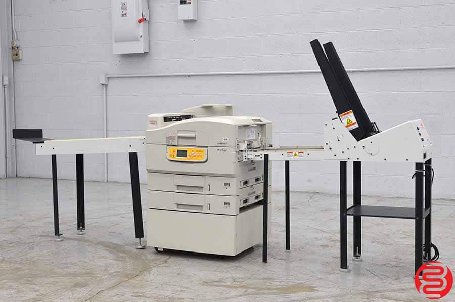 OKI Pro 900 DP Color Digital Envelope Press w/ Conveyor and Feeder