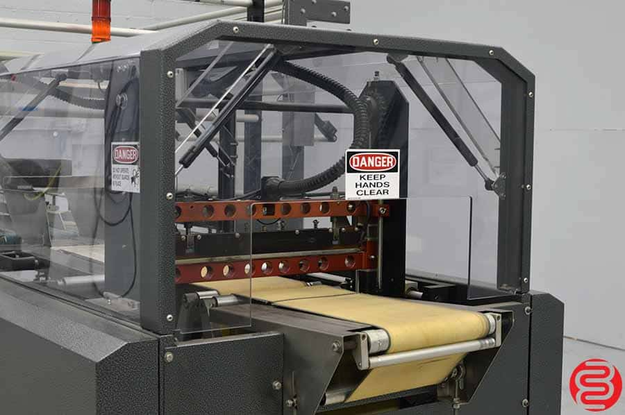 2002 Packaging Parts Extreme AL33 Horizontal Lap Sealer Shrink Wrap System